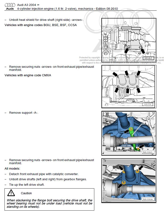 Audi       A3    S3 20032008 repair manual   Factory Manual
