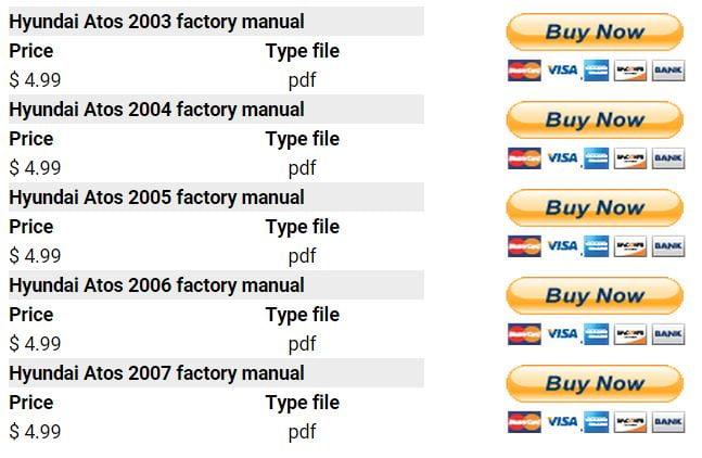 hyundai atos 2003 2007 repair manual factory manual rh factory manuals com hyundai atos service manual pdf hyundai atos owners manual download