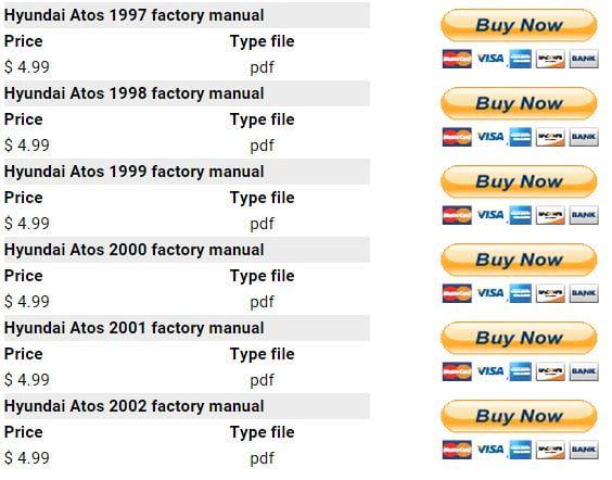 hyundai atos 1997 2002 repair manual factory manual rh factory manuals com 2001 Hyundai Accent Radio Wiring Hyundai Elantra Wiring-Diagram