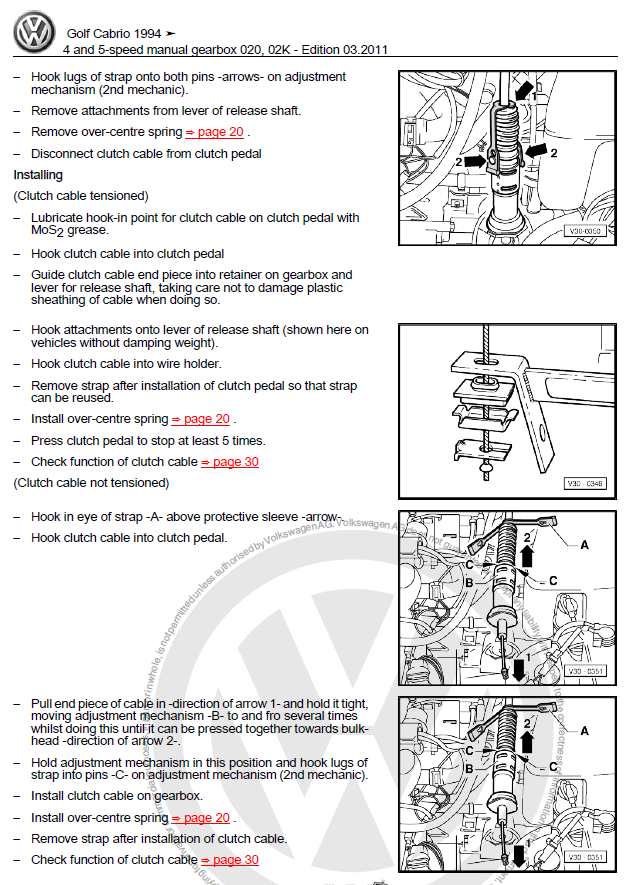 service manual  work repair manual 1997 volkswagen golf