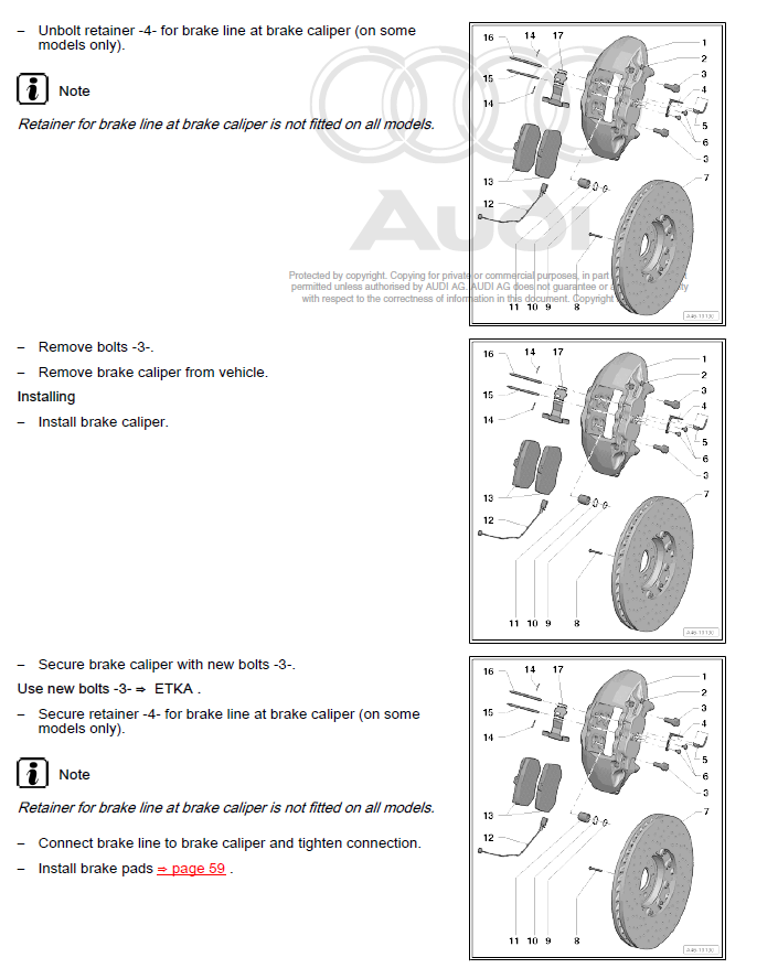 Audi q7 2013 2015 factory repair manual brake system page sample asfbconference2016