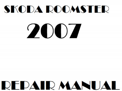 Skoda Roomster Repair Manual