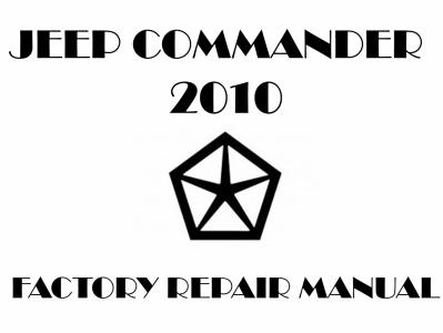 Jeep Commander repair manuals
