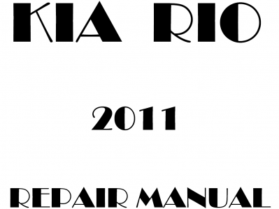 Kia Rio Repair Manual