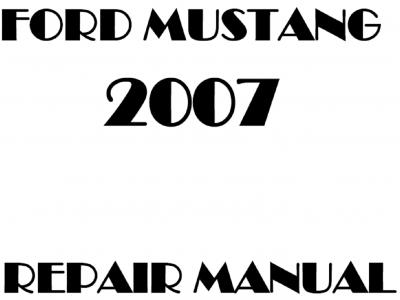 Ford Mustang Repair Manuals