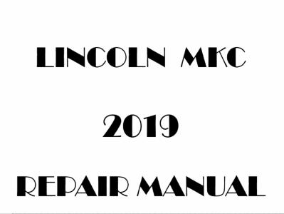 Lincoln MKC repair manual