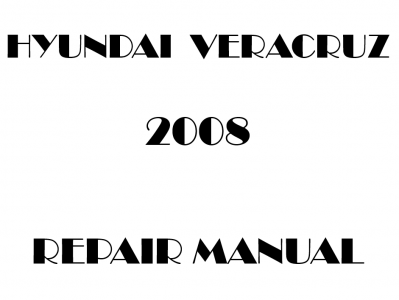 Hyundai Veracruz repair manual