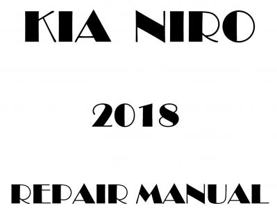KIA Niro repair manuals.