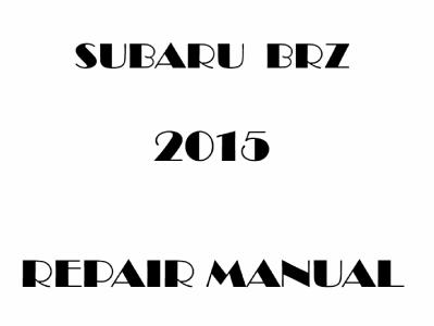 Subaru BRZ repair manual