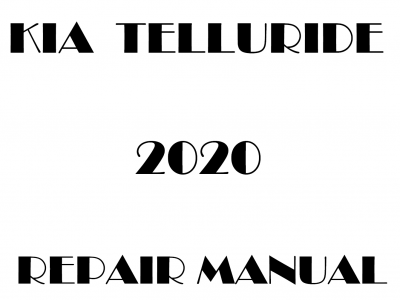 Kia Telluride repair manual