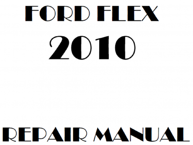 Ford Flex repair manuals