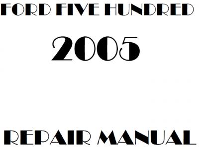 Ford Five Hundred Repair Manuals