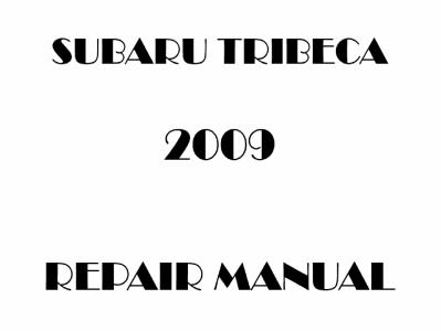 Subaru Tribeca repair manual