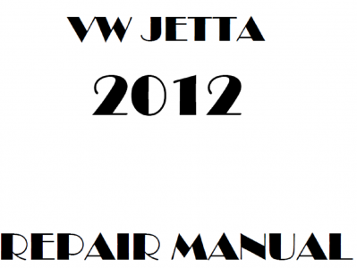 Volkswagen Jetta repair manual