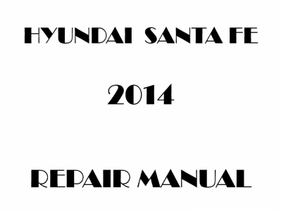 Hyundai Santa Fe repair manual