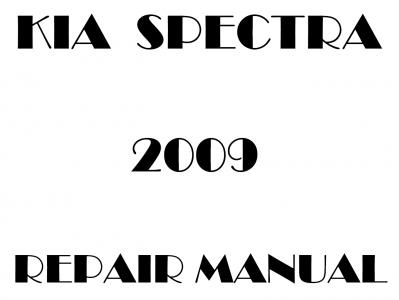 Kia Spectra repair manual