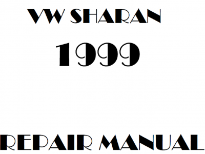 Volkswagen Sharan repair manual