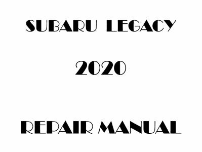 Subaru Legacy repair manual