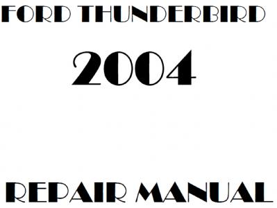 Ford Thunderbird repair manuals