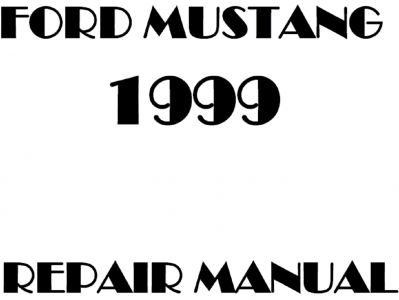 Ford Mustang Repair Manuals