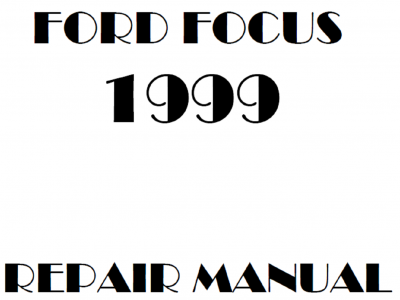 Ford Focus repair manuals