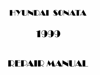 Hyundai Sonata repair manual