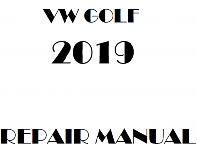 Volkswagen Golf repair manual