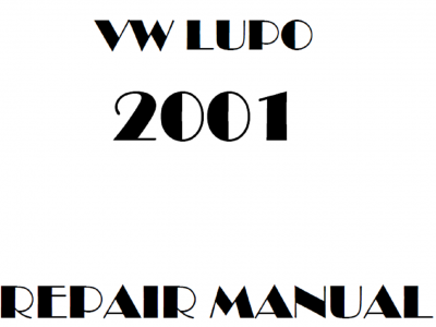 Volkswagen Lupo repair manual