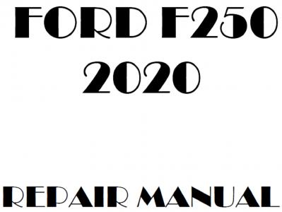 Ford F250 Super Duty repair manuals