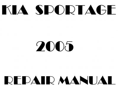 Kia Sportage Repair Manual