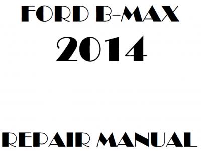 Ford B-Max repair manual