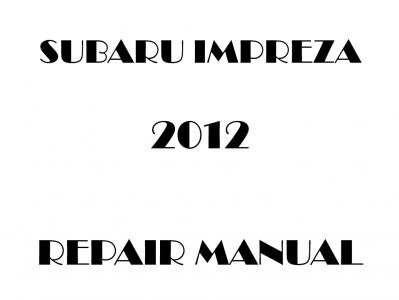Subaru Impreza repair manual
