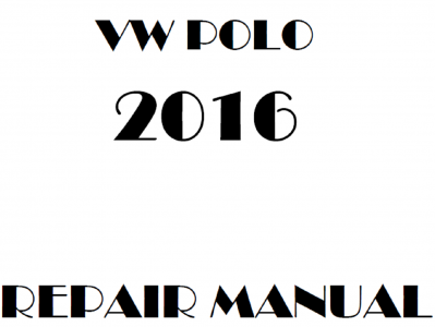 Volkswagen Polo repair manual