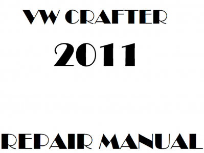 Volkswagen Crafter repair manual