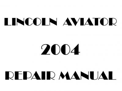 Lincoln Aviator repair manual
