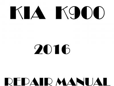 Kia K900 repair manual