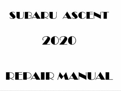 Subaru Ascent repair manual