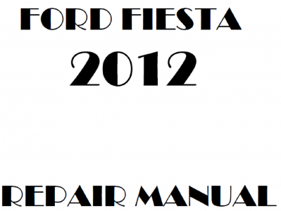 Ford Fiesta Repair Manuals