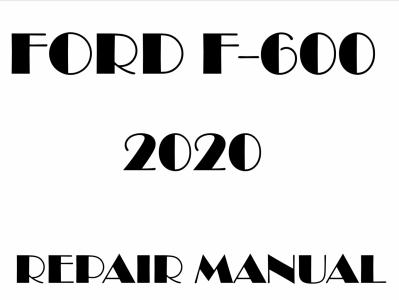 Ford F600 Super Duty Repair Manuals