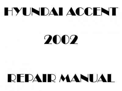 Hyundai Accent repair manual