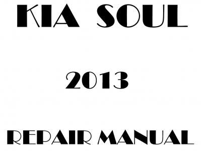 Kia Soul Repair Manual