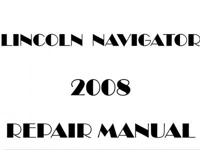 Lincoln Navigator repair manual