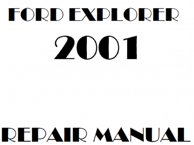 Ford Explorer Repair Manuals