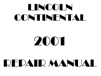 Lincoln Continental Repair Manual