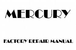 Mercury Mountaineer Factory Manuals