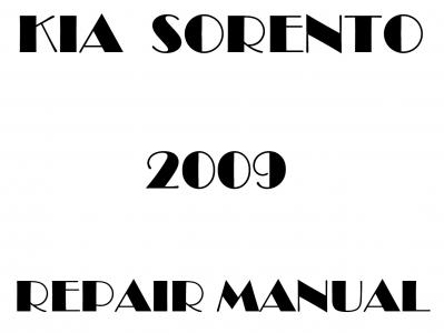 Kia Sorento repair manual