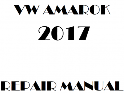Volkswagen Amarok repair manual