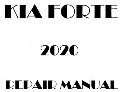 Kia Forte Repair Manual