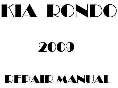 Kia Rondo Repair Manual
