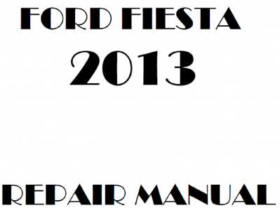 Ford Fiesta Repair Manuals